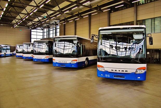 Setra 415 business LE MultiClass ICOM transport úplně první várka připravená k předání v listopadu 2015, foto: Zdeněk Nesveda