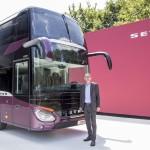 Světová premiéra: nový patrový autokar Setra S 531 DT TopClass ..